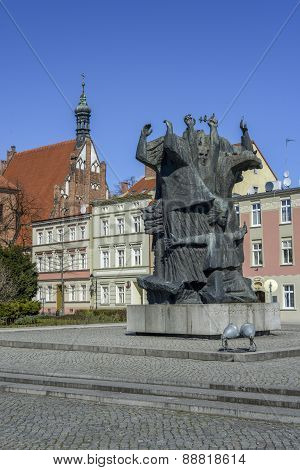 Market Square in Bydgoszcz