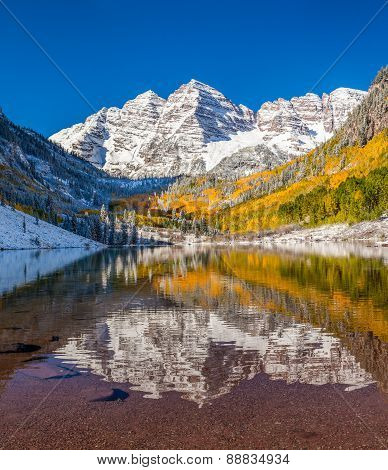 Maroon Bells National Park In Falls