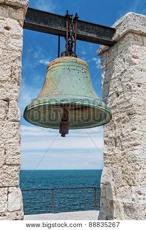 Big Bell In The Chersonesus In Crimea, Near Sevastopol