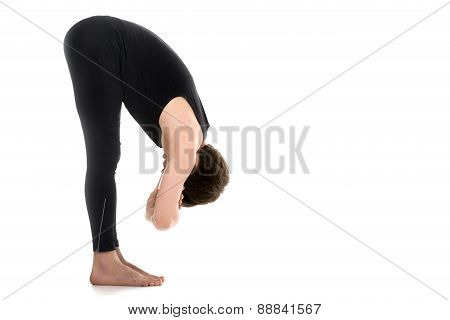Uttanasana, Elbow Grab