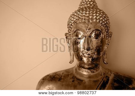 Golden Buddha In Wat Pho, Thailand