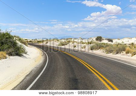 Streets into White Sands