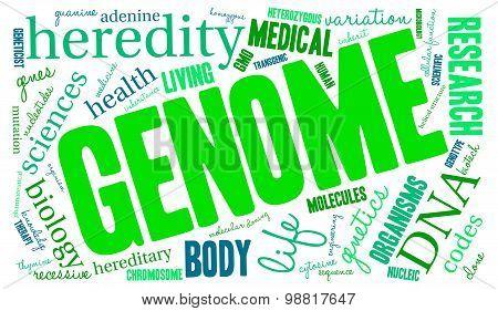 Genome Word Cloud