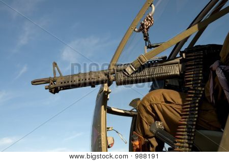 Helicopter Machinegun