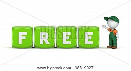 word FREE.