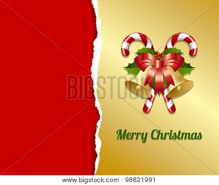Ripped Christmas Card
