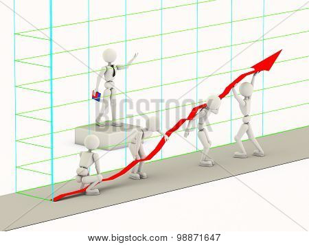 Raising Of A Line Of The Chart