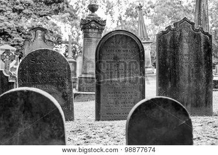 St Anne Church Cemetery In Ryde, Australia