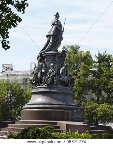 Monument To Empress Catherine The 2 Nd
