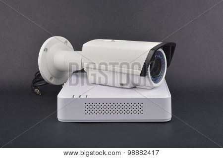 Digital Video Recorder and video surveillance camera poster