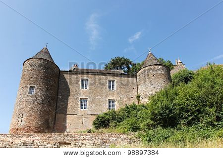 Castle of Brancion, France