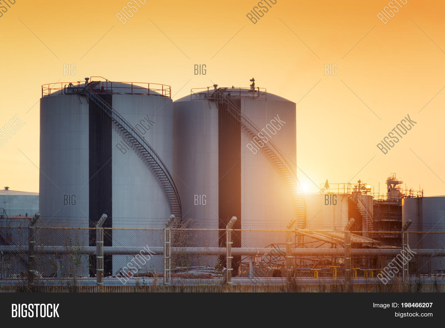 Natural Gas Storage Image & Photo (Free Trial) | Bigstock