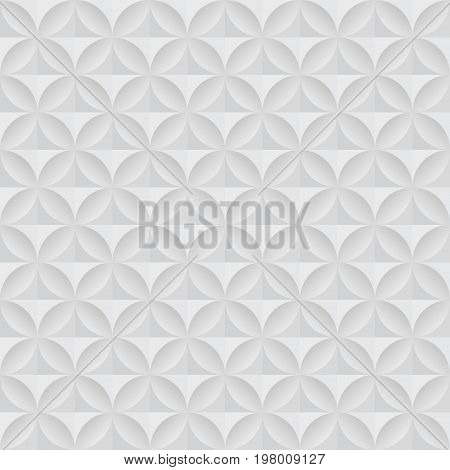 Abstract white and grey seamless background. Vector illustration