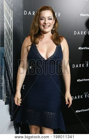 NEW YORK-JUL 31: Laura Michelle Kelly attends