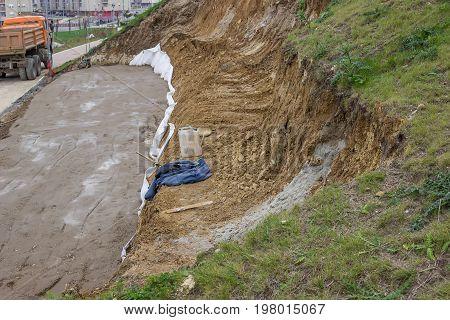 Landslide Repair, Erosion Control