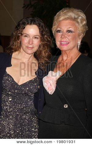 LOS ANGELES - MAR 27:  Jennifer Grey,  Mitzi Gaynor arriving at the 25th Annual Professional Dancers Society Gypsy Awards at Beverly Hilton Hotel on March 27, 2011 in Beverly Hills, CA