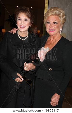 LOS ANGELES - MAR 27:  Mary Ann Mobley, Mitzi Gaynor arriving at the 25th Annual Professional Dancers Society Gypsy Awards at Beverly Hilton Hotel on March 27, 2011 in Beverly Hills, CA