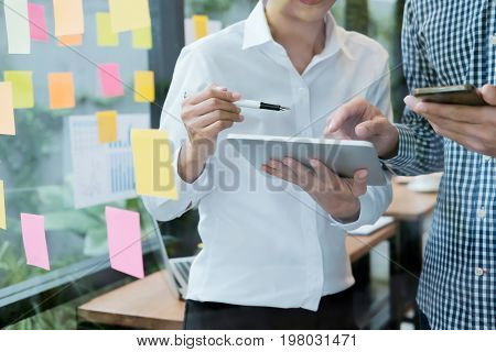 Business People Meeting Design Ideas Concept. Business Planning