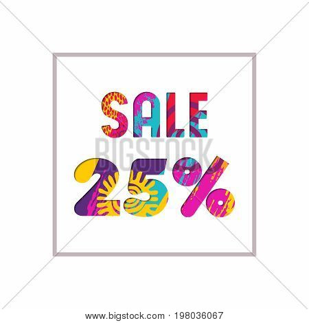 Sale 25% Off Color Quote For Business Discount