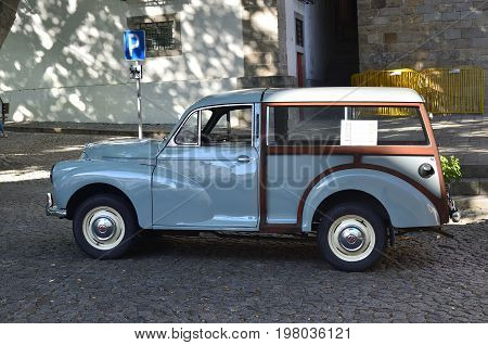 Oldtimer Morris Minor Car