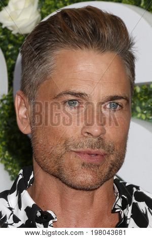 LOS ANGELES - AUG 1:  Rob Lowe at the CBS TV Studios Summer Soiree TCA Party 2017 at the CBS Studio Center on August 1, 2017 in Studio City, CA
