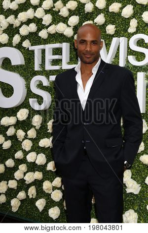 LOS ANGELES - AUG 1:  Boris Kodjoe at the CBS TV Studios Summer Soiree TCA Party 2017 at the CBS Studio Center on August 1, 2017 in Studio City, CA