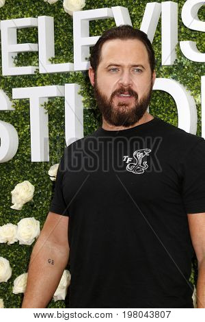 LOS ANGELES - AUG 1:  AJ Buckley at the CBS TV Studios Summer Soiree TCA Party 2017 at the CBS Studio Center on August 1, 2017 in Studio City, CA