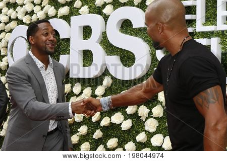 LOS ANGELES - AUG 1:  Jaleel White, Shemar Moore at the CBS TV Studios Summer Soiree TCA Party 2017 at the CBS Studio Center on August 1, 2017 in Studio City, CA