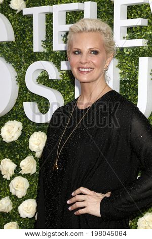 LOS ANGELES - AUG 1:  Monica Potter at the CBS TV Studios Summer Soiree TCA Party 2017 at the CBS Studio Center on August 1, 2017 in Studio City, CA