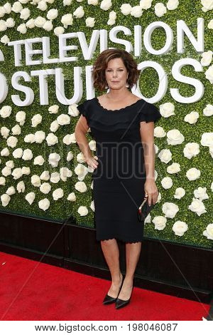 LOS ANGELES - AUG 1:  Marcia Gay Harden at the CBS TV Studios Summer Soiree TCA Party 2017 at the CBS Studio Center on August 1, 2017 in Studio City, CA