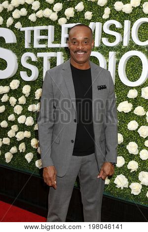LOS ANGELES - AUG 1:  Rocky Carroll at the CBS TV Studios Summer Soiree TCA Party 2017 at the CBS Studio Center on August 1, 2017 in Studio City, CA