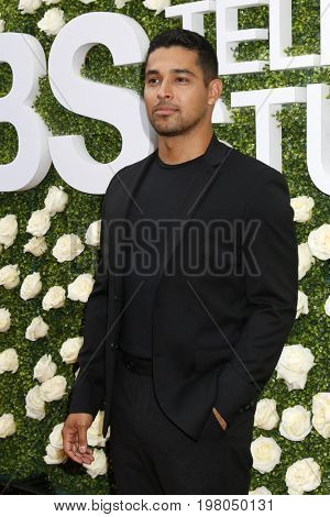 LOS ANGELES - AUG 1:  Wilmer Valderrama at the CBS TV Studios Summer Soiree TCA Party 2017 at the CBS Studio Center on August 1, 2017 in Studio City, CA