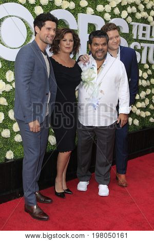 LOS ANGELES - AUG 1:  Ben Hollingsworth, Marcia Gay Harden, Luis Guzman, Harry Ford at the CBS TV Studios Summer Soiree TCA Party 2017 at the CBS Studio Center on August 1, 2017 in Studio City, CA