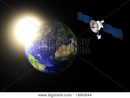 Satellite  Earth