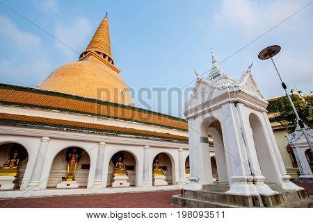 Phra Pathom Chedi(big Pagoda),nakhon Pathom Province,thailand.