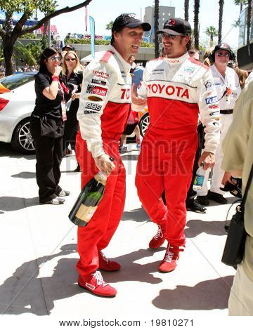 LOS ANGELES - APR 16:  William Fitchner, Kim Coates  attend the Toyota Grand Prix Pro Celeb Race at the Toyota Grand Prix Track on April 16, 2011 in Long Beach, CA.