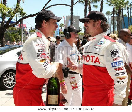 LOS ANGELES - APR 16:  William Fitchner, Kim Coates  attends the Toyota Grand Prix Pro Celeb Race at the Toyota Grand Prix Track on April 16, 2011 in Long Beach, CA.