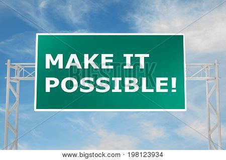 Make It Possible! Concept