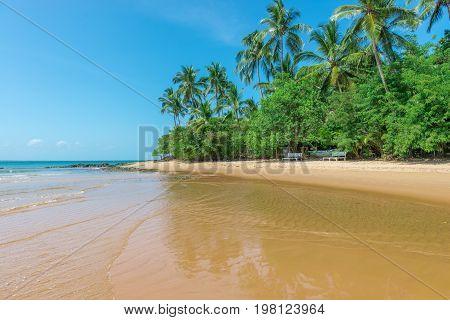 Natural Pools In Peninsula De Marau Bahia