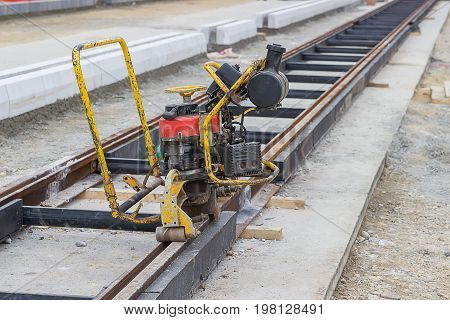 Grinding Rail Machine