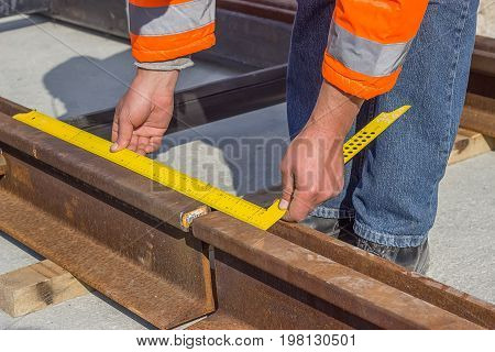 Preparation For Rail Welding Process