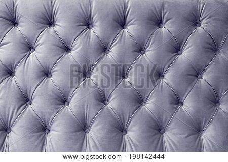 Classic upholstery of the headboard sofa chair wall