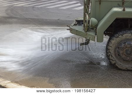 Street Flusher In Action 3