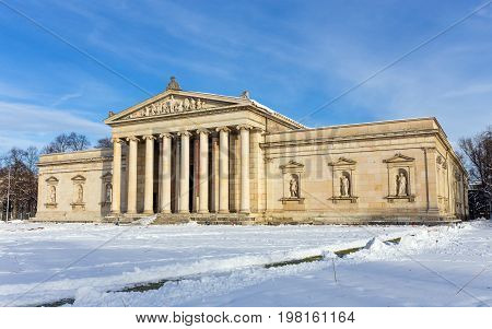 The Glyptothek museum in Munich,  Bavaria, Germany