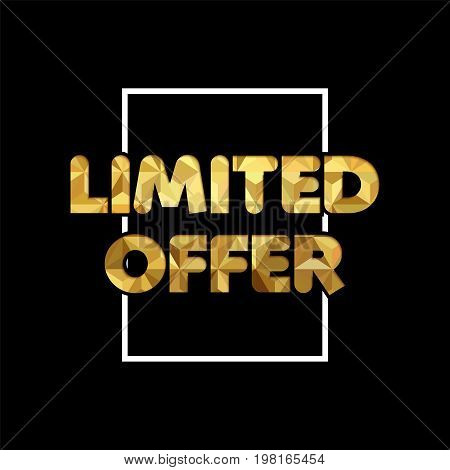 Limited Offer Gold Paper Quote For Business Sale