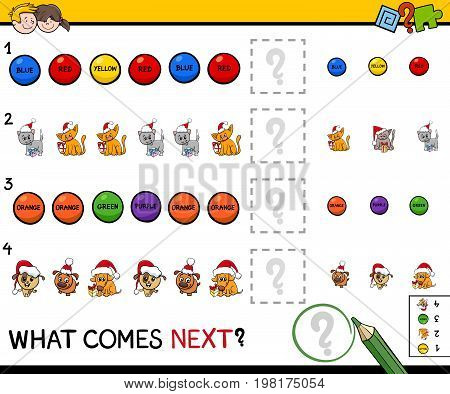 Educational Pattern Game For Children