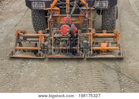 Truck Mounted Plate Compactor