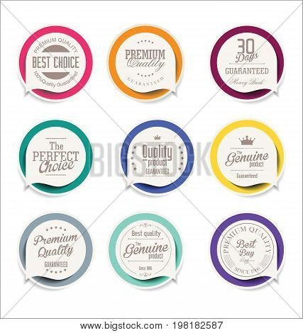 Abstract Modern Vector Label Collection 2.eps
