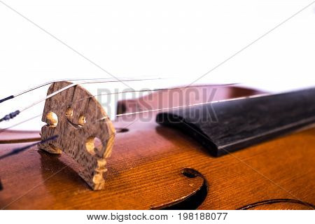 old broken russian violin from 1967 year