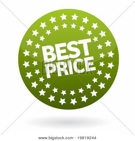 best price button label